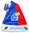 Kansas Jayhawks 2017 NCAA Basic Logo Plush Christmas Santa Hat