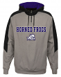 "TCU Horned Frogs NCAA ""Illustrious"" Men's 1/4 Zip Pullover Hooded Jacket"