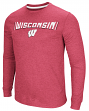 "Wisconsin Badgers NCAA ""Cake Time"" Men's Long Sleeve T-Shirt"