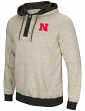 "Nebraska Cornhuskers Men's NCAA ""Bolton"" Hooded Henley Sweatshirt"
