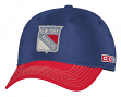 """New York Rangers CCM NHL """"Classic"""" Sun Bleached Slouch Adjustable Hat"""
