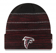 "Atlanta Falcons New Era 2017 NFL Sideline ""Cold Weather TD"" Knit Hat - Black"