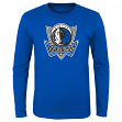 "Dallas Mavericks Youth NBA ""Primary Logo"" Long Sleeve T-Shirt"