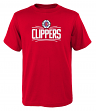 "Los Angeles Clippers Youth NBA ""Primary Logo"" Short Sleeve T-Shirt"