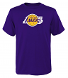 """Los Angeles Lakers Youth NBA """"Primary Logo"""" Short Sleeve T-Shirt"""
