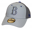 """Brooklyn Dodgers New Era MLB 9Forty Cooperstown """"The League Pop"""" Gray Hat"""