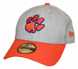 """Clemson Tigers New Era 9Forty NCAA """"The League Heather"""" Adjustable Hat"""