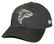 "Atlanta Falcons New Era NFL 9Twenty ""Core Classic Twill"" Adjustable Black Hat"