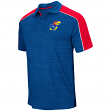 "Kansas Jayhawks NCAA ""Skipper"" Men's Performance Polo Shirt"