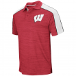 "Wisconsin Badgers NCAA ""Skipper"" Men's Performance Polo Shirt"