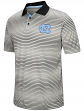 "North Carolina Tarheels NCAA ""Number One"" Men's Performance Striped Polo Shirt"