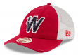 "Washington Senators New Era MLB 9Twenty Cooperstown ""Frayed Twill"" Mesh Back Hat"
