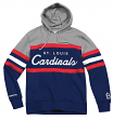 "St. Louis Cardinals Mitchell & Ness MLB ""Head Coach"" Pullover Hooded Sweatshirt"