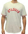 "St. Louis Cardinals Mitchell & Ness MLB ""The Victory"" Short Sleeve Henley Shirt"