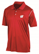 "Wisconsin Badgers Champion NCAA ""Playclock"" Performance Polo Shirt"