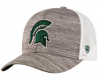 """Michigan State Spartans NCAA Top of the World """"Warm Up"""" Adjustable Mesh Back Hat"""