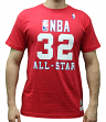 Magic Johnson 1990 All-Star West Mitchell & Ness NBA Throwback Men's Red T-Shirt