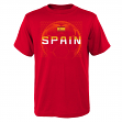 "Team Spain World Cup Soccer Federation ""Penalty Kick"" Men's T-Shirt"