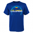 "Team Colombia World Cup Soccer Federation ""Penalty Kick"" Men's T-Shirt"