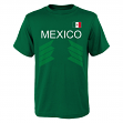 """Team Mexico World Cup Soccer Federation """"One Team"""" Men's T-Shirt"""