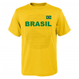 "Team Brazil World Cup Soccer Federation ""One Team"" Men's T-Shirt"