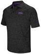"TCU Horned Frogs NCAA ""Down Swing"" Men's Performance Polo Shirt"