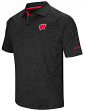 "Wisconsin Badgers NCAA ""Down Swing"" Men's Performance Polo Shirt"
