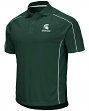 """Michigan State Spartans NCAA """"Bunker"""" Men's Performance Polo Shirt"""
