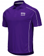 "TCU Horned Frogs NCAA ""Bunker"" Men's Performance Polo Shirt"
