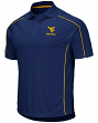 West Virginia Mountaineers NCAA Bunker Men's Performance Polo Shirt
