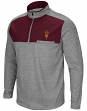 "Arizona State Sun Devils NCAA ""Curl Route"" Men's 1/4 Zip Fleece Jacket"