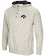 "Iowa Hawkeyes Men's NCAA ""Whoop It Up"" Hooded Henley Sweatshirt"