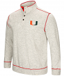"Miami Hurricanes Men's NCAA ""Bowl Game"" 1/2 Button Up Henley Sweatshirt"