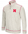 "Nebraska Cornhuskers Men's NCAA ""Bowl Game"" 1/2 Button Up Henley Sweatshirt"