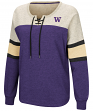 "Washington Huskies Women's NCAA ""Greatness"" Oversized Lace Up Sweatshirt"