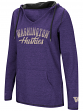 "Washington Huskies Women's NCAA ""Scream It"" V-neck Hooded Sweatshirt"