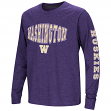 "Washington Huskies NCAA ""Touchdown"" Youth Dual Blend Long Sleeve T-Shirt"