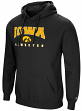 "Iowa Hawkeyes NCAA ""Playbook"" Pullover Hooded Men's Sweatshirt - Black"