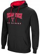 "Texas Tech Red Raiders NCAA ""Playbook"" Pullover Hooded Men's Sweatshirt - Black"