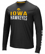 "Iowa Hawkeyes NCAA ""Field Goal"" Men's Dual Blend Long Sleeve T-Shirt"