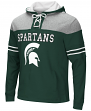 """Michigan State Spartans NCAA """"Power Play"""" Pullover Hooded Men's Sweatshirt"""