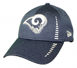 """Los Angeles Rams New Era 9Forty NFL """"Shadow Speed"""" Performance Adjustable Hat"""