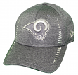 "Los Angeles Rams New Era 9Forty NFL ""Graphite Shadow Speed"" Adjustable Hat"