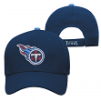 """Tennessee Titans Youth NFL """"Basic Logo"""" Structured Adjustable Hat"""