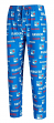 "New York Rangers NHL ""Midfield"" Men's Polyester Blend Pajama Sleep Pants"