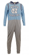 "North Carolina Tarheels NCAA ""Warm Up"" Unisex Micro Fleece Union Suit"