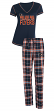 "Philadelphia Flyers NHL ""Super Duo"" Women's T-shirt & Flannel Pants Sleep Set"