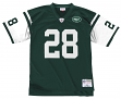Curtis Martin New York Jets NFL Mitchell & Ness Throwback Premier Green Jersey