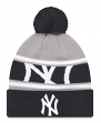 "New York Yankees New Era MLB ""Callout Pom"" Cuffed Knit Hat with Pom"