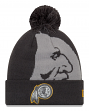 "Washington Redskins New Era NFL ""Logo Whiz 3"" Cuffed Knit Hat with Pom - Gray"